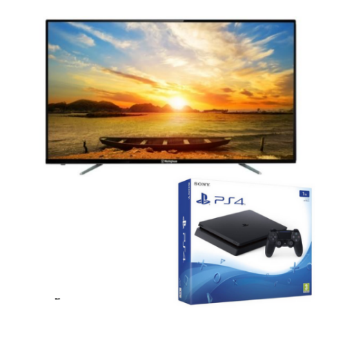 "[INN03109] Combo Pantalla Westinghouse 46"" Smart TV LED HD W46J21S-SMWH00077 + Consola Sony PlayStation 4 Slim 1TB"