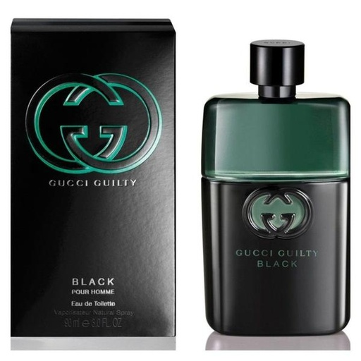 [INN03212] Colonia Gucci Guilty Black Pour Homme 90ml Hombre