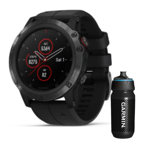 [INN03404] Combo SmartWatch Garmin Fenix 5X Plus Zafiro + Botella Garmin Carbon 500 ML