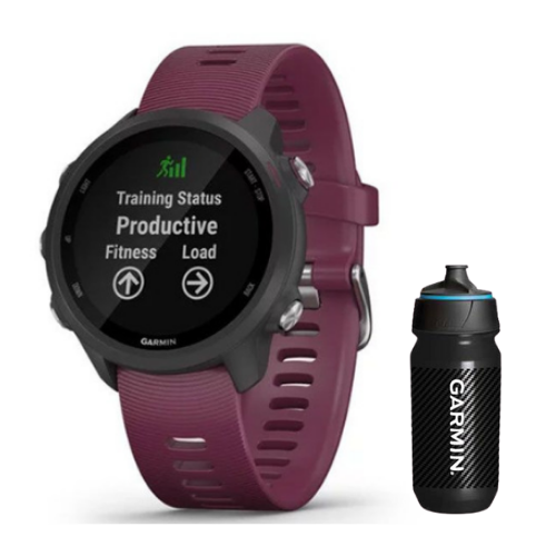 Combo SmartWatch Garmin Forerunner 245 + Botella Garmin Carbon 500 ML