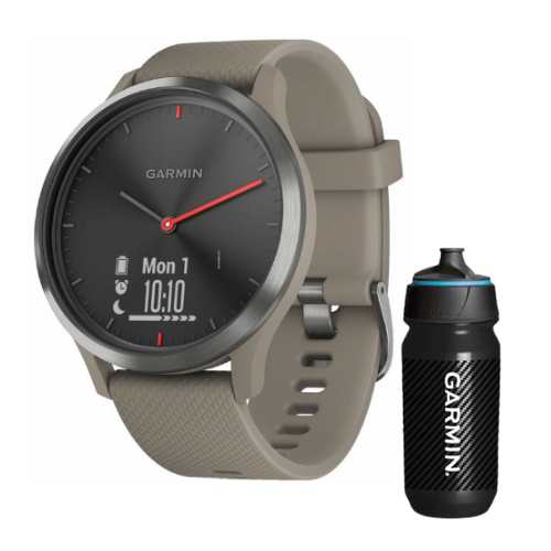 [INN03406] Combo SmartWatch Garmin Vivomove HR + Botella Garmin Carbon 500 ML
