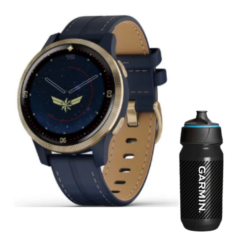 Combo SmartWatch Garmin Serie Legacy Hero Marvel  + Botella Garmin Carbon 500 ML