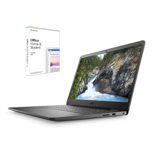 "[INN04413] Combo Laptop Dell Inspiron 3505 15"" + Licencia Microsoft Office Home and Student 2019"