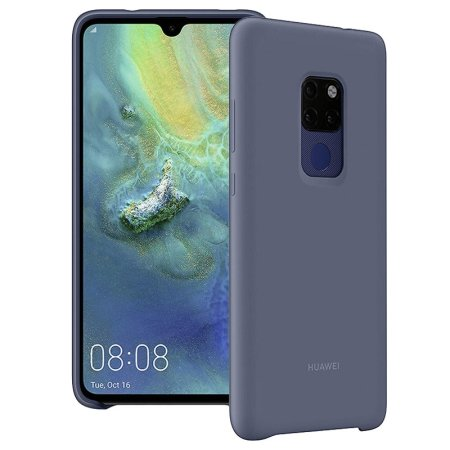 [INT3033] Huawei Silicon Car Case Mate 20 Blue