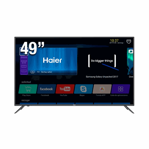 "[INT3628] Pantalla Haier Smart TV LE49K6500DA 49"" FULL HD"