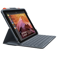 [INT3807] Logitech Case Logic Slim Folio - Black - para ipad 5 and 6