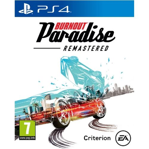 [INN0475] Juego Sony Burnout Paradise Remastered PS4