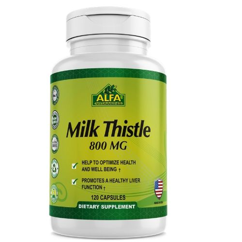 [INN0809] Vitaminas Alfa Milk Thistle
