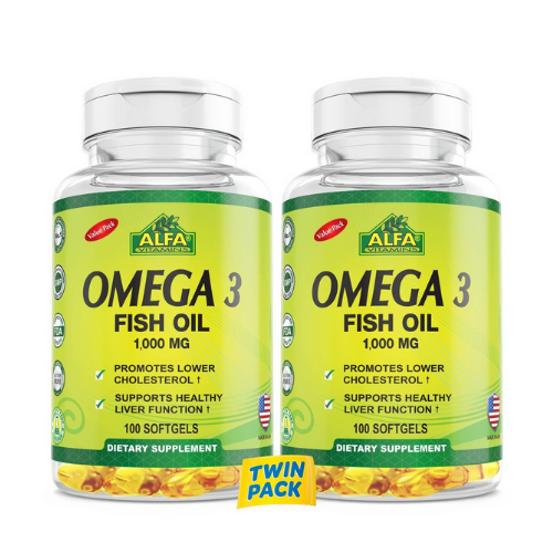 [INN0853] Omega 3 1000 MG Alfa 100 Capsulas (Doble)