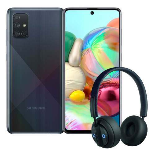 [INN01277] Combo Celular Samsung Galaxy A71 + Audífonos JAM Out There